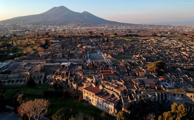 Pompeii is one of the most famous archeological sites in the world. (Photo / CNN)