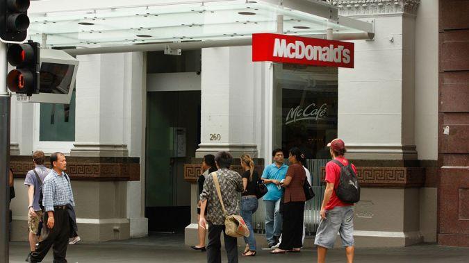 McDonald's restaurant at 260 Queen St. (Photo / Brett Phibbs)