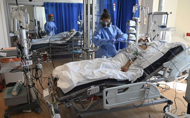 England, Wales and Spain record the highest number of excess deaths due to corona-virus. Photo / file