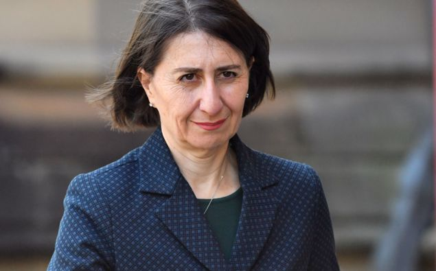 NSW Premier Gladys Berejiklian is in the middle of the political drama. Photo / File