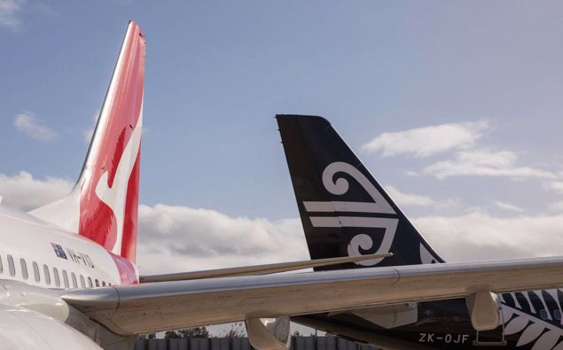 Air New Zealand's first flight to Sydney departs tomorrow morning. Photo / File