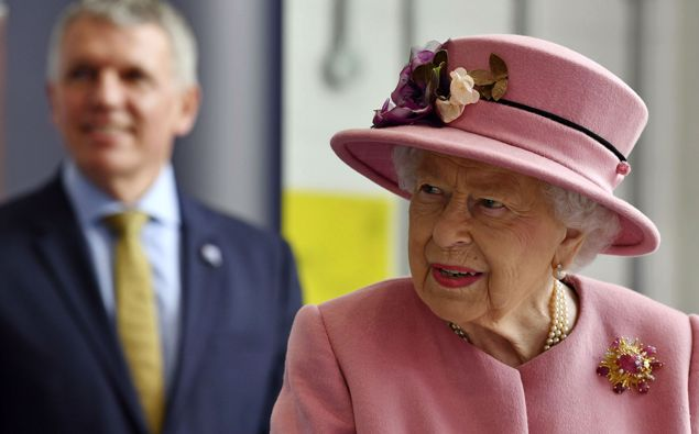 Britain's Queen Elizabeth II visits the Defence Science and Technology Laboratory at Porton Down in her first public appearance in months. (Photo / AP)