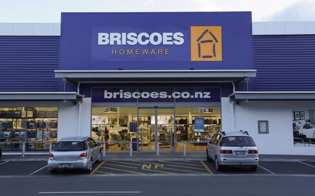 Briscoe Group received more than $11m in government wage subsidies. Photo / File