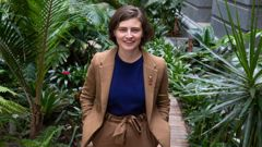 Green MP Chlöe Swarbrick is set for an historical win in the Auckland central electorate. (Photo / File)