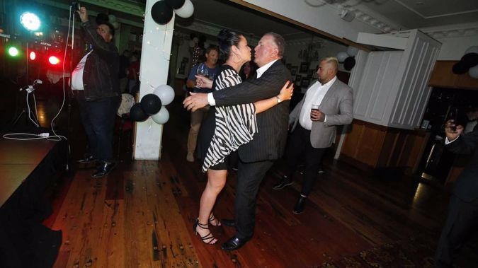 It looks like Shane Jones is partying into the night. (Photo / Herald)