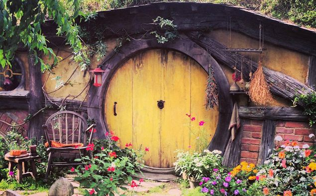 A house in Hobbiton. (Photo / Getty)