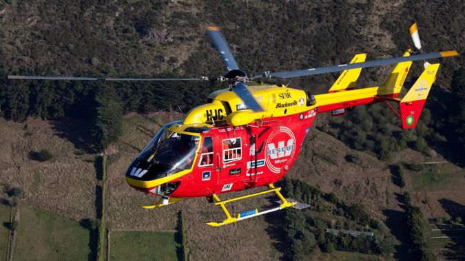 A rescue helicopter is en route to treat the injured person. Photo / File