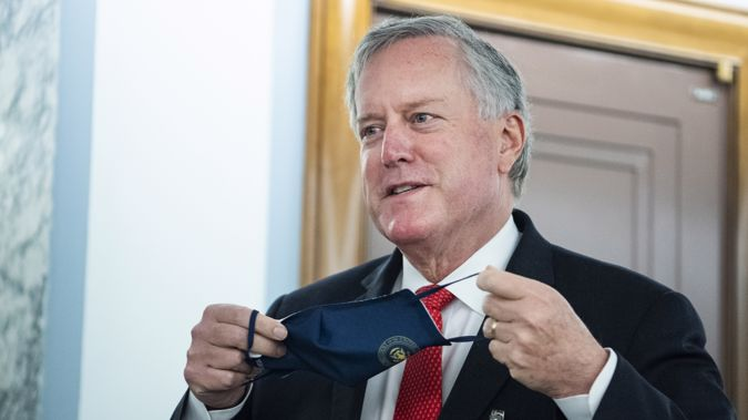 "White House chief of staff Mark Meadows said Sunday that the US is ""not going to control"" the coronavirus pandemic"