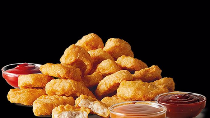 The free nuggets, which first featured in New Zealand McDonald's in 1985, will be available tomorrow from 9am until they run out.Photo / McDonald's