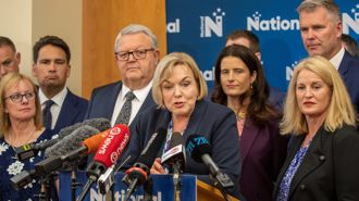 National caucus meets to digest crushing election defeat