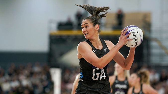 Silver Ferns captain Ameliaranne Ekenasio. Photo / Photosport