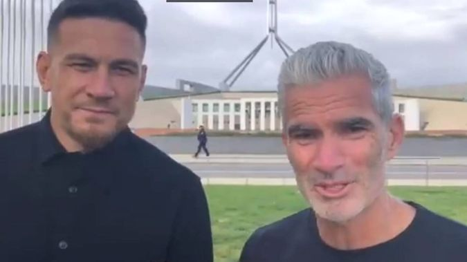 Sonny Bill Williams has asked Australian Prime Minister Scott Morrison to send asylum-seekers in off-shore detention centres to New Zealand. Photo / Twitter