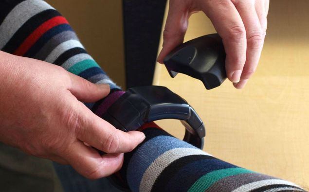 Ankle bracelets could be used to allow people to quarantine at home. (Photo / File)