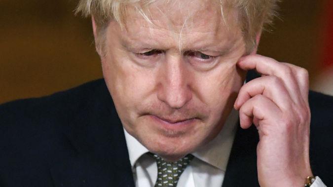 Boris Johnson. (Photo / AP)