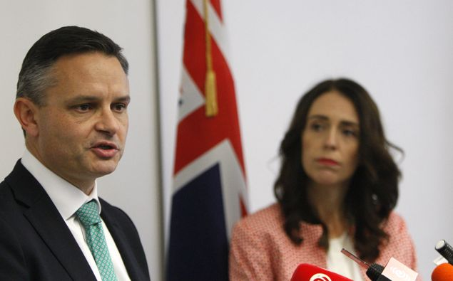 James Shaw and Jacinda Ardern. (Photo / NZ Herald)