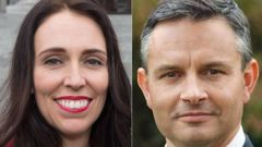 Prime Minister Jacinda Ardern and Green Party co-leader James Shaw. Photo / file