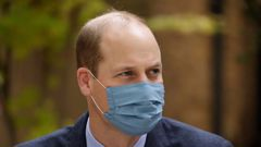 Prince William was diagnosed with coronavirus in April. Photo / Getty Images