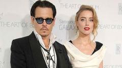 Johnny Depp and ex-wife Amber Heard. (Photo / Getty)