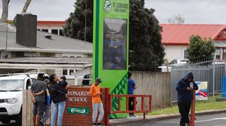 Armed police in West Auckland: Lockdown lifts at schools
