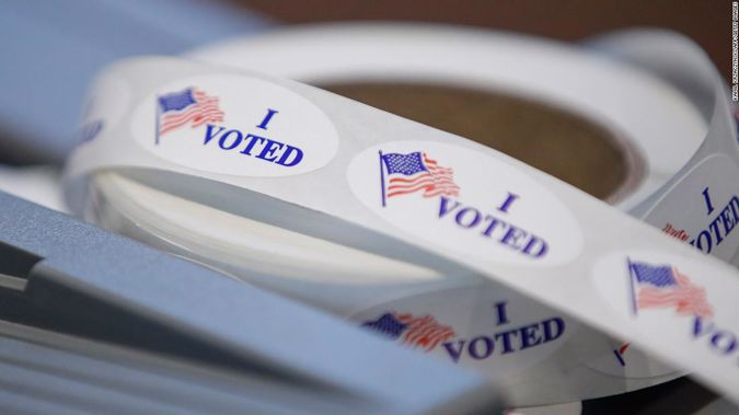 Election officials reported few early problems at the polls in battleground states that could determine control of the US Senate. Photo / Getty Images
