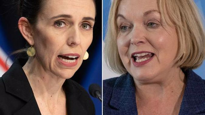 Jacinda Ardern and Judith Collins will both be waiting to see how the results favour them today. (Photo / NZ Herald)