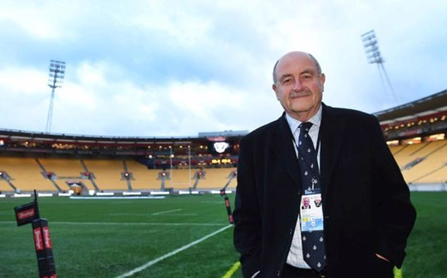 Rugby commentating legend Grant Nisbett Photo / Supplied