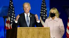 Joe Biden is on the verge of victory. Photo / AP