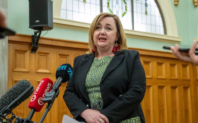 Minister Megan Woods. (Photo / Mark Mitchell)
