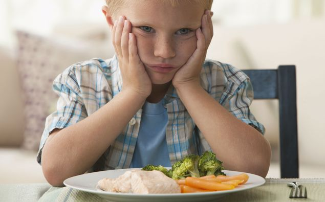 Lies encouraging kids to eat vegetables can take their toll. (Photo / Getty)