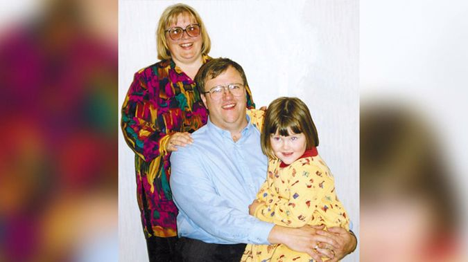 The Lundy family: Christine, Mark and their daughter Amber. Photo / File