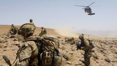 Australians Special Operations Task Group soldiers in Afghanistan, 2012. Photo / Department of Defence