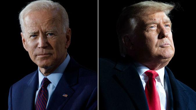 Joe Biden and Donald Trump. (Photo / CNN)