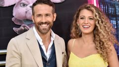 Blake Lively with Ryan Reynolds. The duo donated a big sum of money to US and Canadian food banks. Photo / file