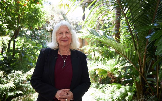 Dame Anne Salmond has received the 2020 Blake Medal, the foundation's premium leadership award in honour of sailor Sir Peter Blake. Photo / Supplied