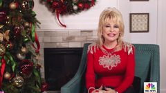 Dolly Parton was thrilled to discover her contribution to coronavirus research had been used to partly fund the Moderna Covid-19 vaccine. (Photo / NBC via CNN)