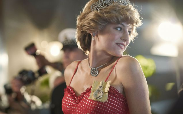Princess Diana as portrayed by Emma Corrin in The Crown. (Photo / AP)
