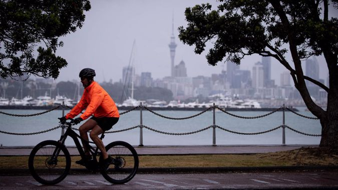 Auckland is due to have one of its wettest days in years as a low-pressure system sweeps over the North Island. Photo / Dean Purcell