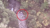 Rescued teen tramper was 'one hour' from death