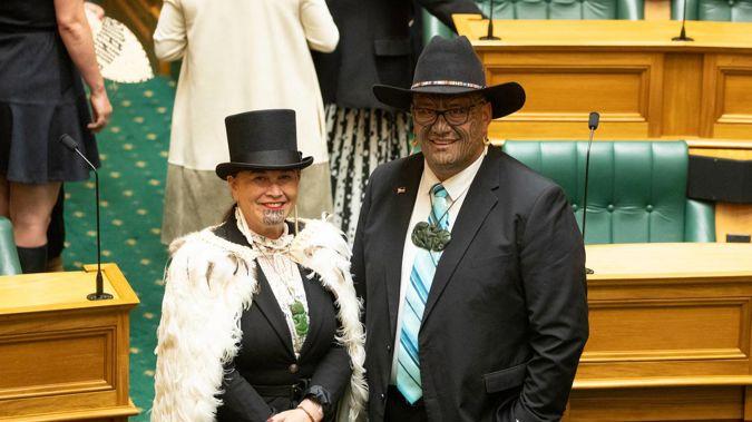 Maori Party co-leaders Debbie Ngarewa-Packer and Rawiri Waititi. Photo / Mark Mitchell