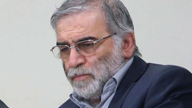 Mohsen Fakhrizadeh sits in a meeting with Supreme Leader Ayatollah Ali Khamenei in Tehran, Iran, Jan. 23, 2019. (Photo / AP)