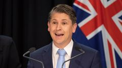 Workplace Relations Minister Michael Wood will introduce a law change to double sick leave entitlements. Photo / Mark Mitchell