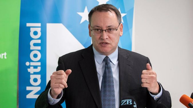 National's health spokesman Dr Shane Reti announcing the party's health policy in Wellington in September. Photo / Mark Mitchell