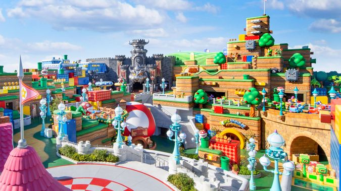 Universal Studios Japan's long-awaited Super Nintendo World was originally scheduled to open in 2020 but was delayed due to the Covid-19 pandemic.