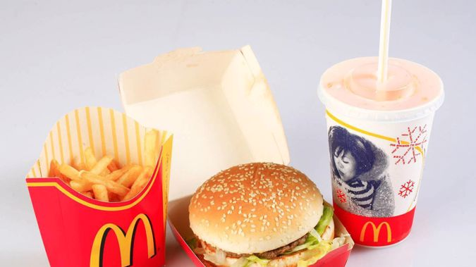 Have your McDonald's meals looked slightly different in the past month? Photo / NZ Herald