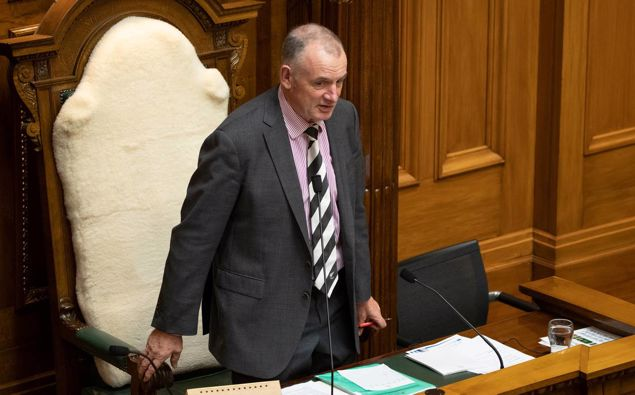 Some MPs are calling for Speaker Trevor Mallard to publicly disclose how much taxpayer money was used on lawyers and mediators involved in the issue. Photo / Mark Mitchell
