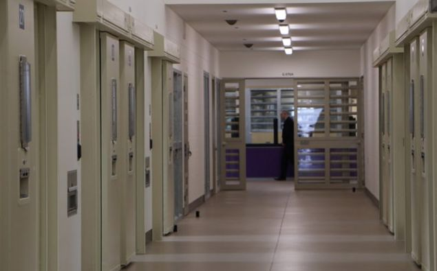 A new wing at Auckland Prison in Paremoremo. Photo / Jessie Chiang / RNZ
