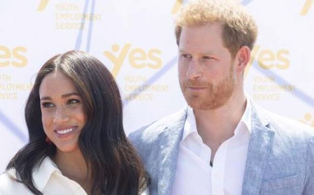 The Duke and Duchess of Sussex. (Photo / NZ Herald)