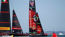 America's Cup live: Team NZ stunned by American Magic in tight race
