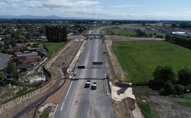 The motorway has been built at a cost of $290 million. Photo / Supplied