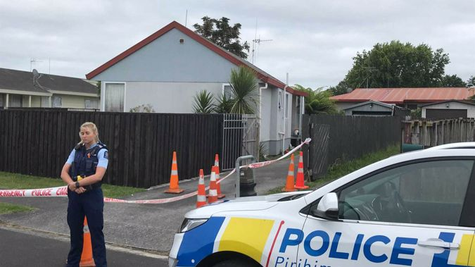 A man has been charged with murder after a woman died in Hamilton late last night. Photo / Belinda Feek